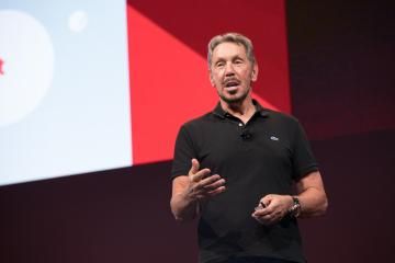 Ларри Эллисон объявил о создании самоуправляемой СУБД на открытии Oracle OpenWorld 2017
